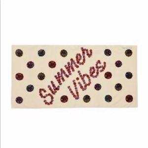 Vera Bradley Summer Vibes Soft Beach Towel 33 X 66